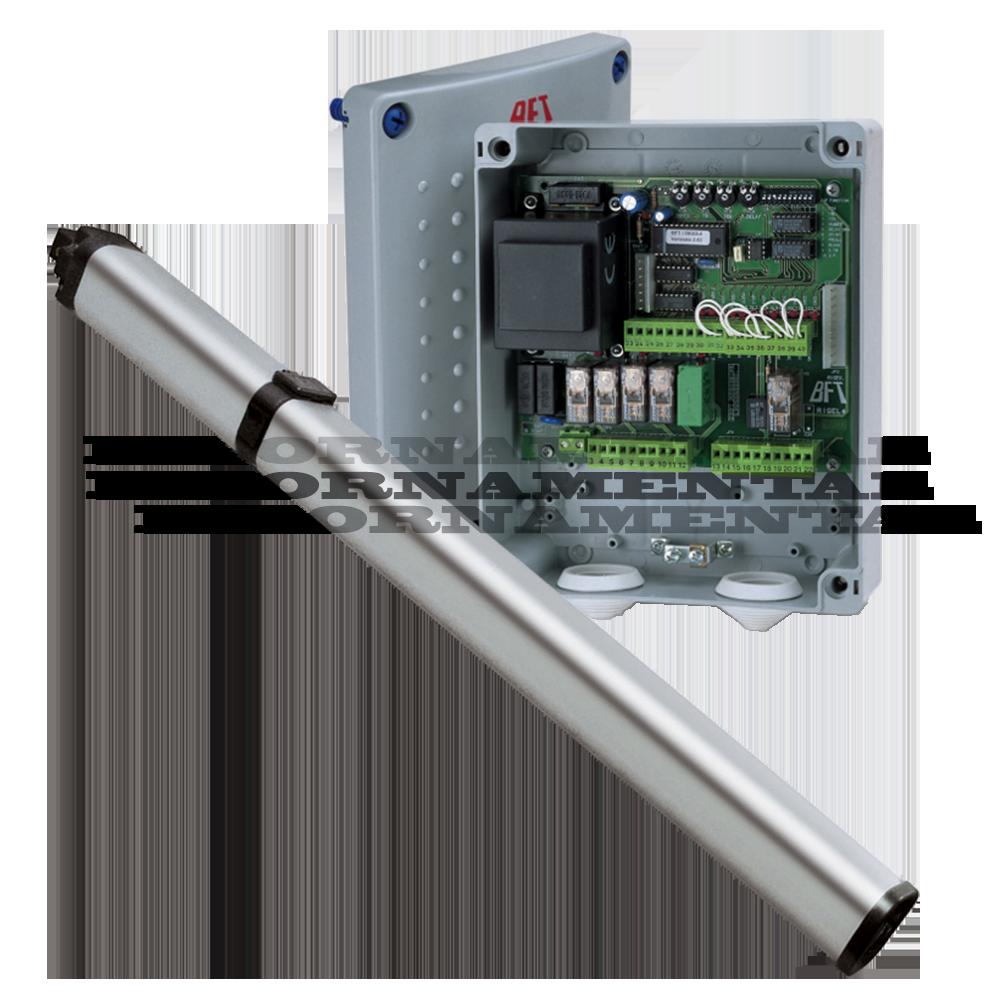 Bft lux r b sn hydraulic swing gate kit volt handles