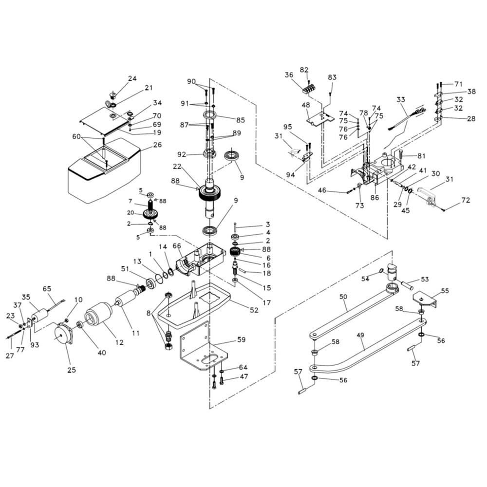 kit motor screws joint  igea