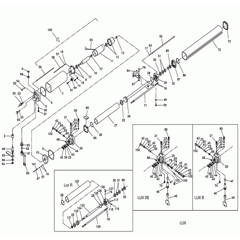 Kit Assembly Rear Body Lux Fc